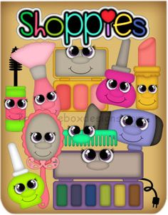 Shoppies Beauty - Treasure Box Designs Patterns & Cutting Files (SVG,WPC,GSD,DXF,AI,JPEG)