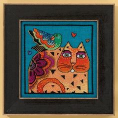 Mill Hill Laurel Burch  Feathered Friend by DebiCreations on Etsy