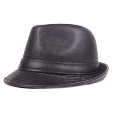deecb15f614 genuine-leather-hat SEULEMENT POUR VOUS 9681 - NEWCHIC Mobile. Kevin · Mens  fashion · Men Vintage Pu Leather Baseball Cap Outdoor ...