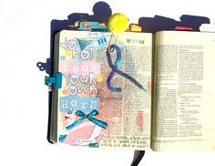 Don't Toot Your Own Horn -Asher Smiles Bible Journaling Illustrated Faith