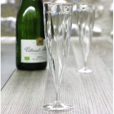 Verres à vin en plastique design 18 cl - Vaisselle Jetable Discount