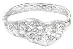 3 2/5 Carat CZ Sterling Silver Bracelet - BCY_123476
