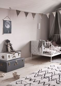 Cute kid's room | Maileg soft bunnies available at www.istome.co.uk
