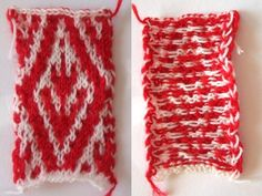 Žakárové vzory jednoduše :: Háčkovaná a pletená móda