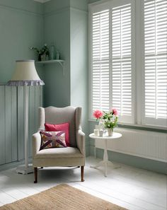 Looking for full height shutters? The Shutter Store offers high quality window shutters in a wide selection of materials, styles & colors. Wooden Window Shutters, Custom Shutters, Interior Window Shutters, Diy Shutters, Window Shutters Inside, Cottage Shutters, Bedroom Shutters, Indoor Shutters, Louvered Shutters