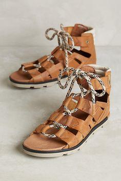 Sorel Torpeda Lace Sandals - anthropologie.com