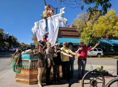 Pirates of the carribean pumpkin pole team with adventures in dance first place in littleton