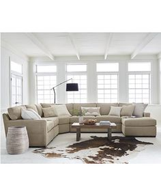 Radley Fabric Sectional Sofa Collection, Created for Macy's - Living room sets furniture - Apartment Sofa, Apartment Furniture, New Furniture, Living Room Furniture, Living Room Decor, Outdoor Furniture, Wooden Furniture, Business Furniture, Antique Furniture
