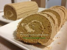 Mocha Roll - PinoyCookingRecipes