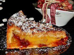 Torta s jabukama, pudingom i nutellom