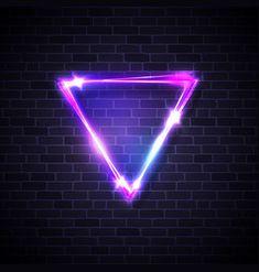neon led inverted triangle border on brick texture Blur Image Background, Background Wallpaper For Photoshop, Desktop Background Pictures, Blur Background Photography, Studio Background Images, Poster Background Design, Light Background Images, Picsart Background, Lights Background