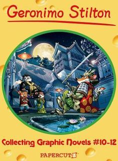 Geronimo Stilton Boxed Set of Graphic Novels #10 12 Geronimo Stilton Saves the Olympics/We' ll Always Have Paris/The First Samurai Geronimo Stilton -Free worldwide shipping of 6 million discounted books by Singapore Online Bookstore http://sgbookstore.dyndns.org