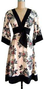 Trashy Diva Silk Kimono Cinnabar Dress