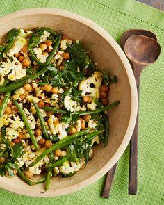 cauliflower salad with chickpeas - Martha Stewart Cooking School