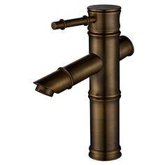 Homelody® ElegantRetro Bad Wasserhahn, antik waschbecken... Extravagante Armatur für Ihr Waschbecken aus der Serie Retro. Ein Hebel Mischbatterie mit hochwertiger Keramikkartusche. An alle üblichen Heiß- und Kaltwasser-Drucksysteme anschließbar. Superleicht und sehr präzise ihre gewünschte Wassermenge einstellen. Standard 3/8 Zoll Norm-Anschluss,sehr leicht zu installieren, sogar für den Laien.