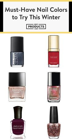 nice 11 Nail Colors to Try This Winter