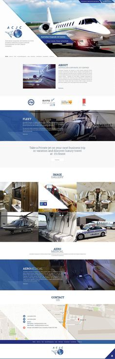 Website design and development portfolio – Browse our recent works and learn about how we successfully provided website design & development services to Australian clients. Brisbane, Melbourne, Portfolio Website Design, Civil Aviation, Private Jet, Design Development, Aircraft, Web Design, Gallery