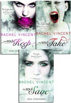 Soul Screamers 3 Books Collection by Rachel Vincent  #MySoulToKeep #MySoulToTake #MSoulToSave #AdultFiction #Book   http://www.snazal.com/rachel-vincent-soul-screamers-3-books-collection-pack-set-my--DEALMAN-U11-RachelVincent-3bks.html