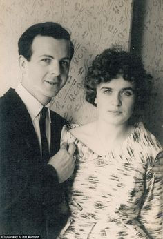lee harvey oswald and marina | seen on Lee Harvey Oswald's right hand as he poses with Marina Oswald ...