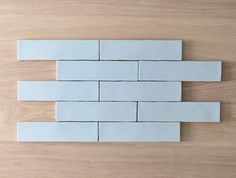 Avalon Gloss Subway Duck Egg Blue Tile