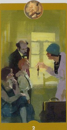 Eight Of Wands Tarot Of The Imagination By Ferenc Pinter 8