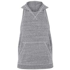Backless Hoodie by Ivy Park - Topshop USA ❤ liked on Polyvore featuring tops, hoodies, backless hoodie, hoodie top, topshop tops, backless top and sweatshirt hoodies