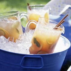 Sip on this satisfying Chai Punch this summer! More refreshing summer drinks: http://www.bhg.com/recipes/drinks/seasonal/summer-beverage-recipes/?socsrc=bhgpin071613chai=20