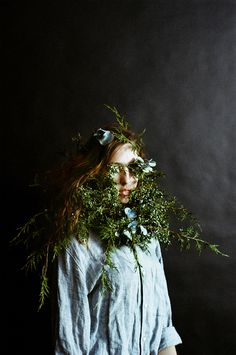Overgrowth is an ongoing artistic collaboration between photographer Parker Fitzgerald and floral designer Riley Messina.