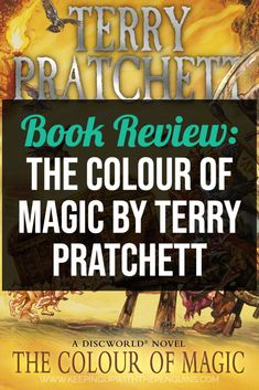 The Colour Of Magic is a comic fantasy novel, the first in Pratchett's Discworld series, published in 1983. The first print run of the British edition produced just 506 copies; I can only imagine the panic at the printers when they realised just how many more they'd need, because it achieved instant popularity... #BookReview #TerryPratchett #Discworld #Fantasy #Books #Reading Best Books List, Good Books, Books To Read, Discworld Books, Book Dedication, The Colour Of Magic, Lego Books, Best Book Reviews, Guide To The Galaxy