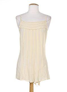 T-shirts femme pas cher – T-shirts femme Lauren, Vidal, Summer Dresses, Tops, Fashion, Beige Colour, Fashion Ideas, Moda, Summer Sundresses