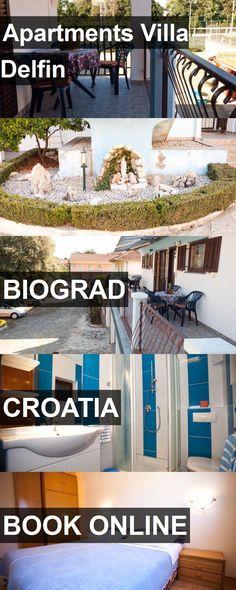 Apartments Villa Delfin in Biograd, Croatia. For more information, photos, reviews and best prices please follow the link. #Croatia #Biograd #travel #vacation #apartment