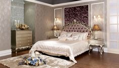neoclassical decorating style | China Bed With Neoclassical Style - large image for Bedroom Furniture ...