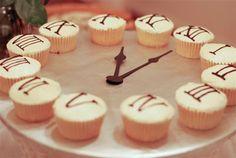 Cupcake Clock--Happy 2012!   A Silver Nutmeg Blog