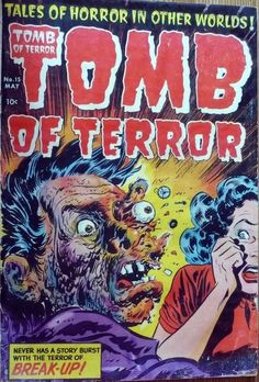 Comic Book Cover For Tomb of Terror v1 #15