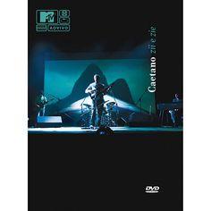DVD Caetano Veloso MTV Ao Vivo - Zii e Zie