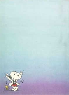 papel de carta : Photo #snoopy