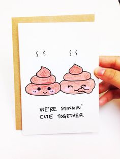Items similar to Funny valentine card Funny valentines day card Valentines Day Card Funny Funny anniversary card for boyfriend poop pun poop emoji card on Etsy Funny Valentine, Quotes Valentines Day, Cute Valentines Card, Printable Anniversary Cards, Funny Anniversary Cards, Happy Anniversary, Funny Love Cards, Cute Cards, Anniversary Cards For Boyfriend