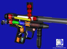 Paintball Gun Animations - Paintball Barrels
