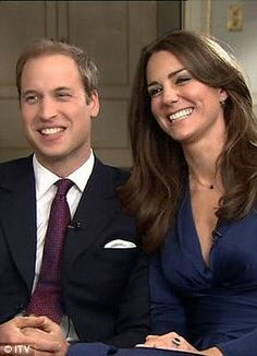 Prince William an Catherine, their interview on Britian's TV after they announced their engagement.
