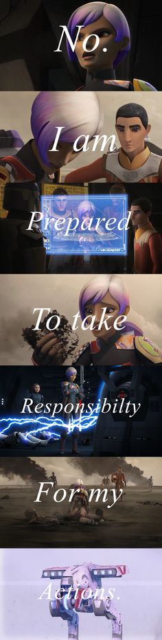 Sabine is amazing.  From S1 E1