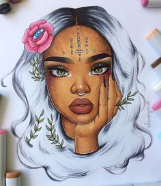 "19.3k Likes, 289 Comments - ✨Emilia✨ (@emzdrawings) on Instagram: ""@sza ✨ // tell me what you think!"""
