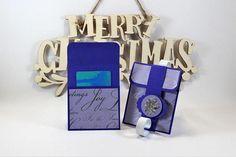 Christmas gift card holder Christmas gift card envelope gift