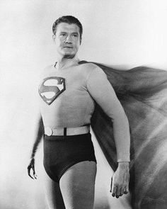 Superman George Reeves 8x10 Photograph