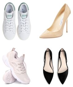 """gutal"" by oyuwore on Polyvore featuring adidas, Reebok, Jimmy Choo and MANGO"