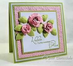 Spellbinders Bitty Blossoms and Foliage Die