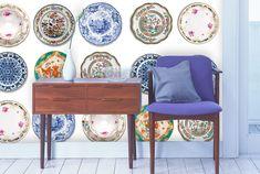 hip tegeltjesbehang Archives - Stories on the Wall - Muurprints - Behang - Akoestiek verbeteren Wallpaper, Home, Decor, Style, Happy, Kitchen, De Stijl, Swag, Decoration