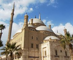 Mohamed Ali Mosque, Egypt  Known as the City of a Thousand Minarets, Cairo has several mosques worth mentioning. However, for space's sake, I must highlight Egypt's most iconic: The Mohamed Ali Mosque