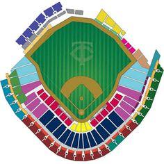 Nats Seating Chart
