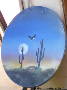 Satellite Dish, Old Tv, Things To Do, Christmas Cards, Landscaping, Recycling, Projects To Try, Alternative, Arts And Crafts