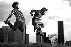 Les Twins, shot by Shawn Welling